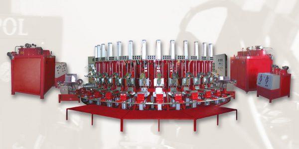 Polyurethane Direct Injection Onto Upper Machines | Technopoly